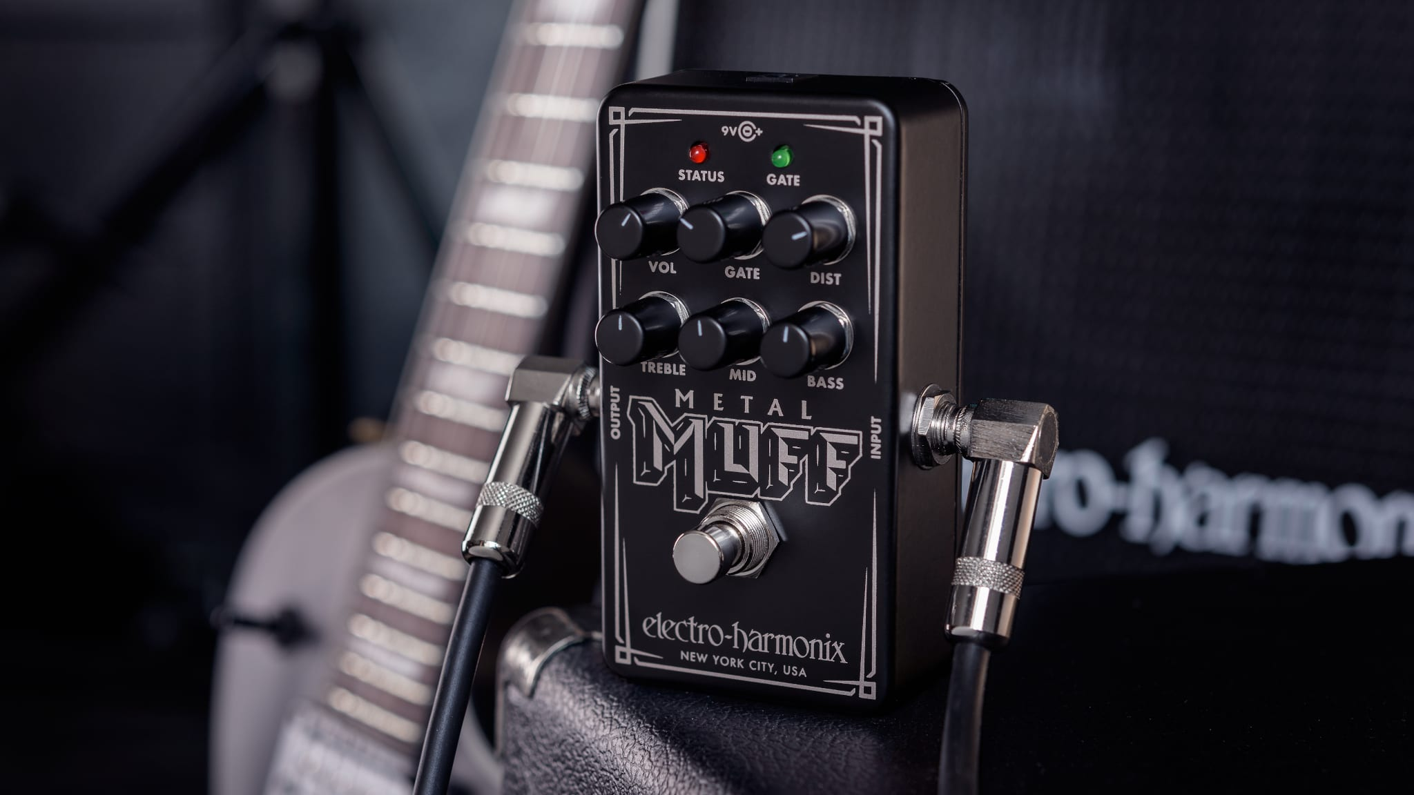 Electro-Harmonix Unveils the Nano Metal Muff Distortion With Noise Gate