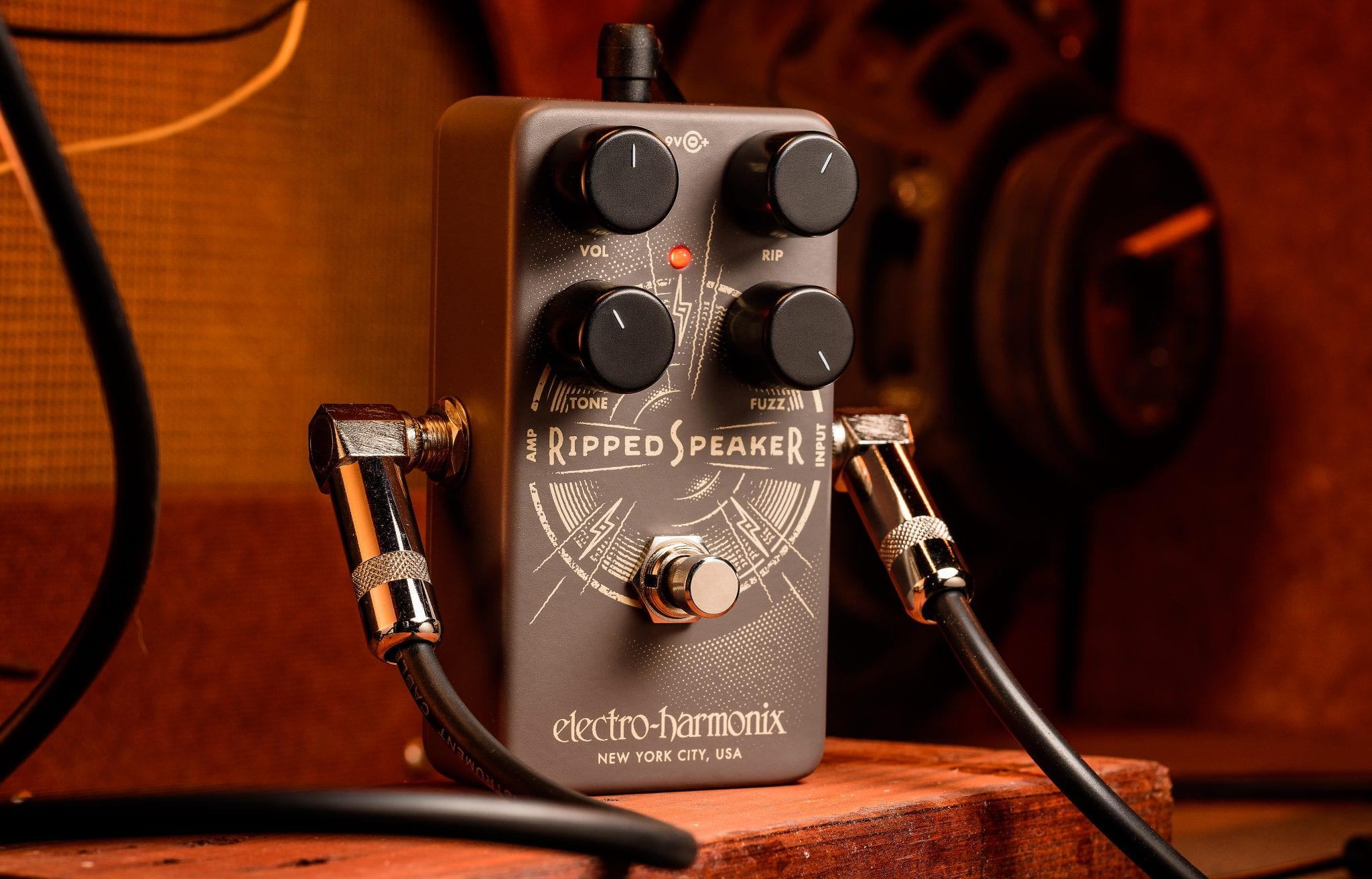 Electro-Harmonix Introduces The Ripped Speaker Fuzz Pedal